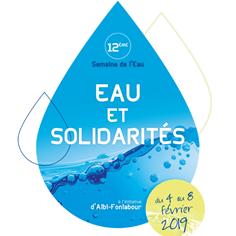 12ème Semaine de l'Eau : eau et solidarités