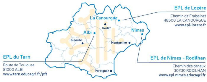 Carte PFT GH2O Occitanie