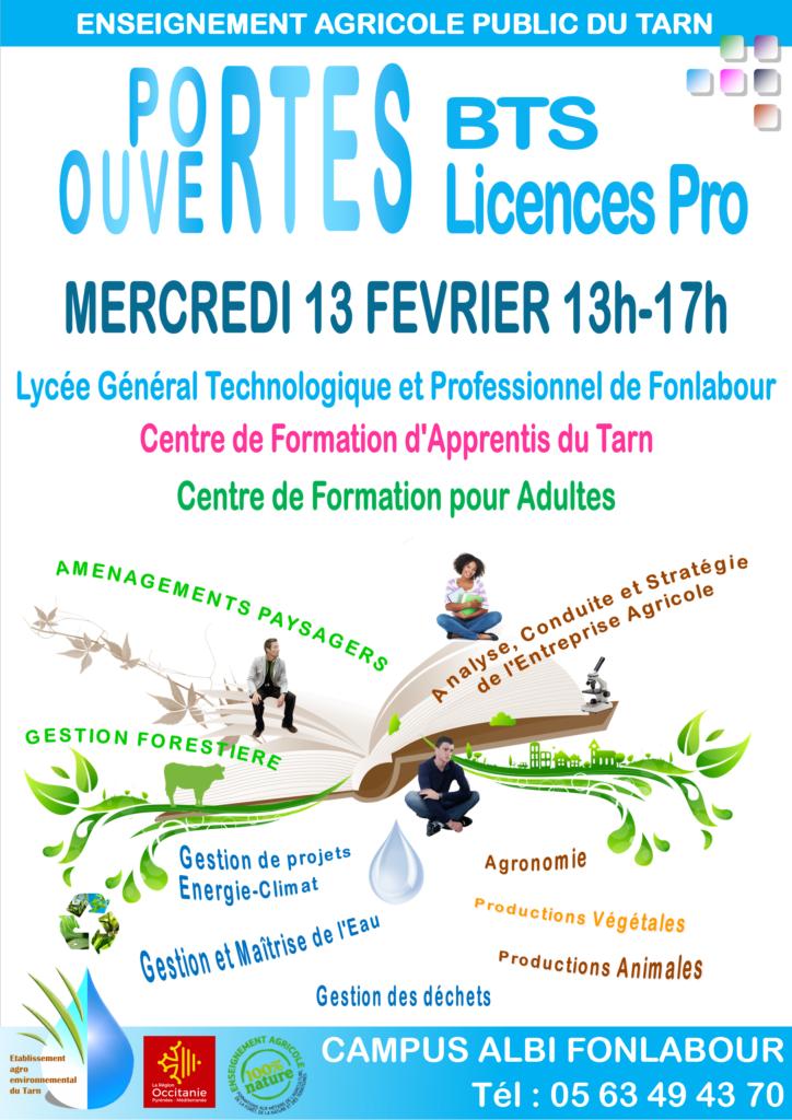 Journées Portes Ouvertes Lycée Fonlabour
