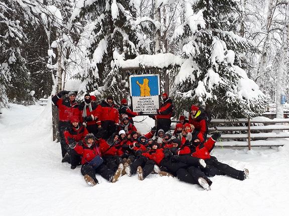 Nos élèves en BTS ACSE mesurent l'impact du réchauffement climatique lors de leur voyage en Laponie, dans le cadre de leur enseignement
