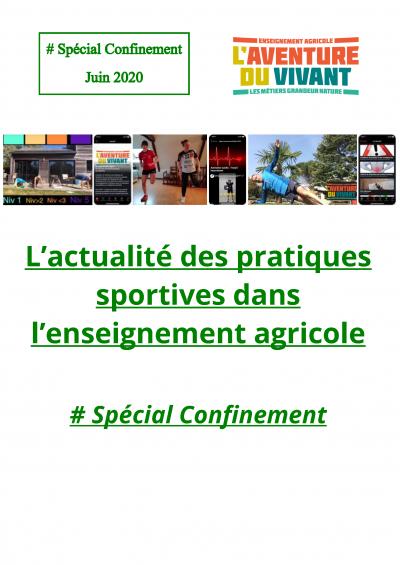 L'actualité des pratiques sportives dans l'Enseignement Agricole # Spé Confinement_Page_01