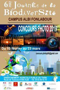 6ème Journée de la Biodiversité : affiche concours photo